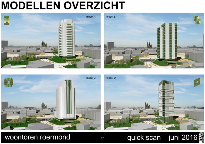 Woontoren Roermond foto 2